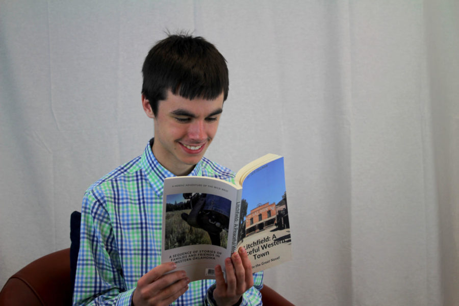 Zellman loves to read. He says it's one of his favorite things to do, he can often be spotted sitting with a book at home. In addition to reading, he now has a passion for writing as he is a published author