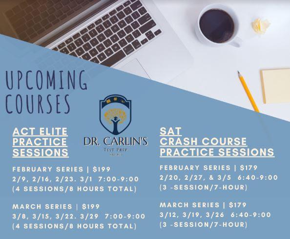SAT/ACT instructor teaches prep classes