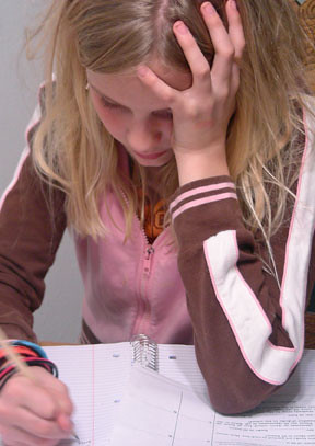 Teens struggle between the balance of homework, sports and their personal lives. (Photo courtesy of Creative Commons)