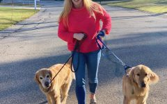Senior Savannah Hankinson learns to spend time at home