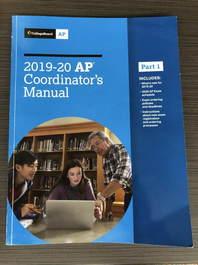 This current year's coordinator's manual for AP testing.