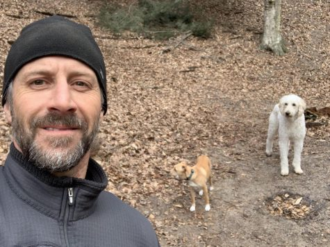 Assistant principal Mike Roberson has decided to fill his schedule with frequent runs and walks during this Stay Home, Stay Safe order. He admits his dogs are getting pretty tired of going out for runs and walks though.