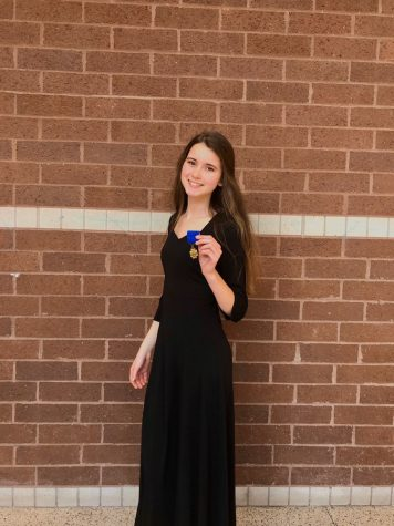Choir seniors Sophia Bates and George Fullerton reflect on experience in award-winning program