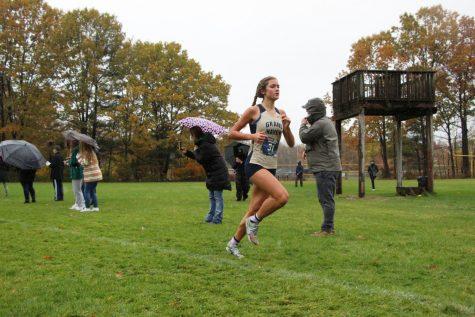 RUNNING: Buitenhuis runs at pre regionals on Nov. 5 at Grand Haven High School.