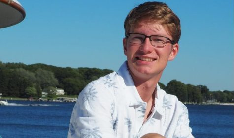 Senior Frank Roberts named December Rotary Student of the Month