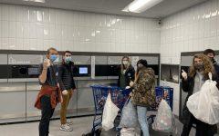 Seniors help return cans