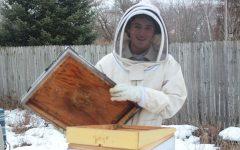Senior Theo Moleski raises bees