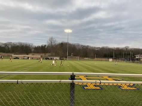Girls varsity soccer ties to Hudsonville in first game