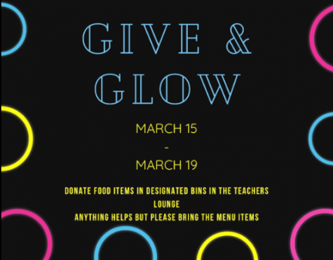 GIVING AND GLOWING: The Bucs food pantry believes in the phrase, one buc help another buc, Prieditis said. We truly give because we want to see the difference in someone elses life.