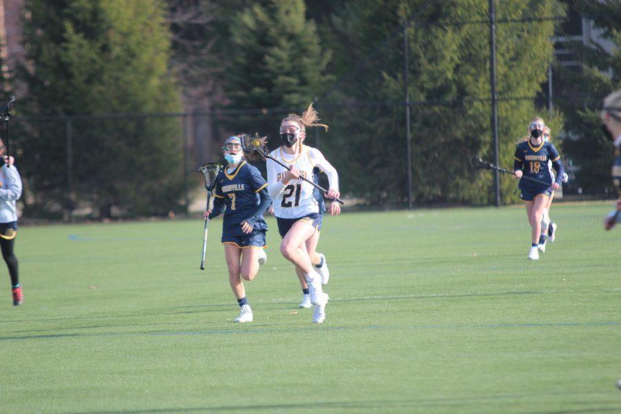 Girls lacrosse falls to Hudsonville