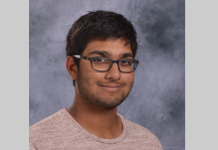 Senior Aashray Mandala's hard work has allowed him to consider schools such as University of Michigan, and various schools along the East Coast (Photo Courtesy Jostens).