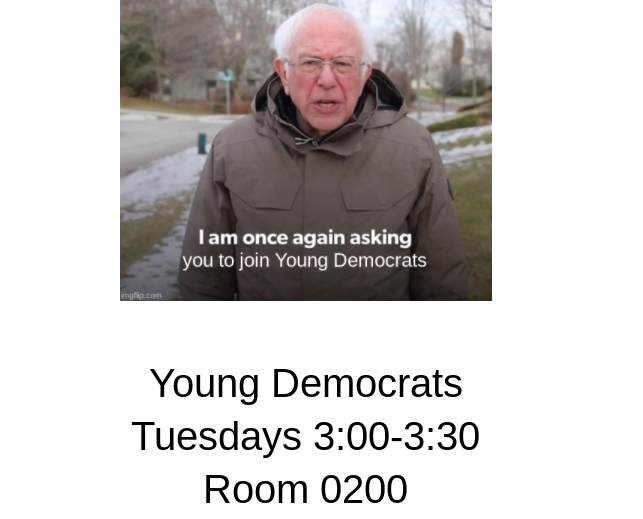 GHHS Young Democrats club looking to gain new members