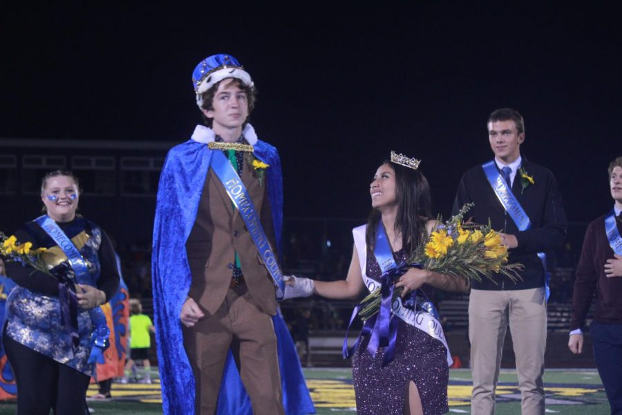 Homecoming halftime photo gallery