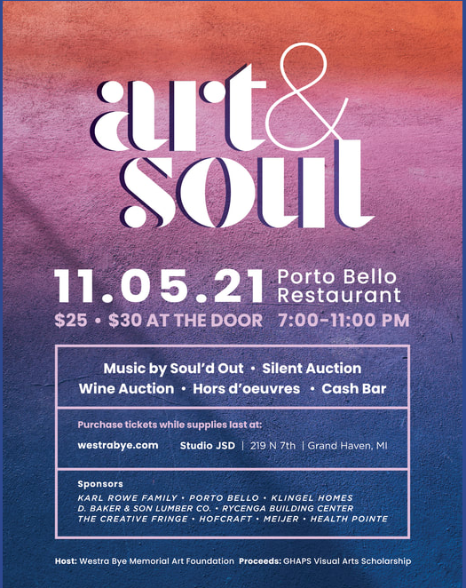 Westra Bye Foundation hosts Art & Soul event