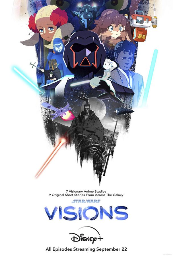 Star War Visions promotional poster.